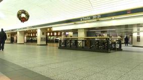 New York City Penn Station vídeos de arquivo
