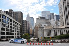 New York city police car Stock Images