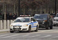 New York City Police Cruiser Royalty Free Stock Photos