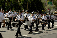 New York City Police Department Marching Band Royalty Free Stock Image