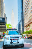 New York City Police Department (NYPD) patrol car Royalty Free Stock Photography