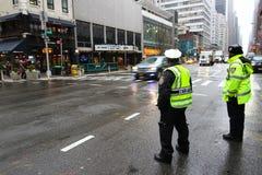 New York City police Royalty Free Stock Photo