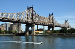 New York City: Ponte de Queensboro Imagem de Stock Royalty Free