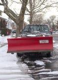 New York City pronto para limpa depois que as tempestades de neve maciças golpeiam para o nordeste Imagens de Stock Royalty Free