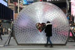 New York City Public Art royalty free stock photography