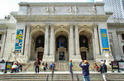 The New York City Public Library Main Branch Stock Images