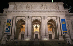 The New York City Public Library Main Branch Stock Photography