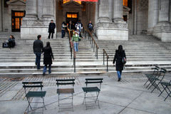 New York City Public Library Stock Photography
