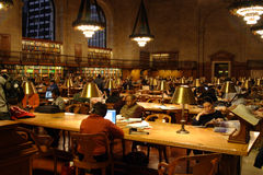 New York City Public Library Stock Photo
