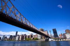 New York City Queensboro Bridge Stock Image