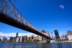 New York City Queensboro Bridge Stock Image