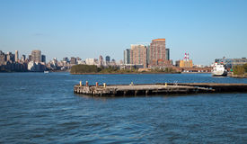 New York City Queensboro Bridge and Long Island City Stock Photo