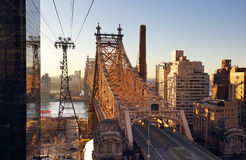 New York City, Queensboro Bridge, USA Royalty Free Stock Photography