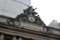 New York City on a rainy day royalty free stock image