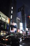 New York City, 3rd July: Times Square by night in Midtown Manhattan from New York City in United States Stock Photo
