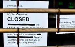 Free New York City Restaurant Business Closed Down Due To Government Order Lock Down Covid19 Royalty Free Stock Image - 178345066