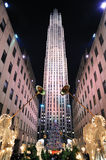 New York City Rockefeller Center Royalty Free Stock Images