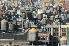 New York City Roofs Stock Photos