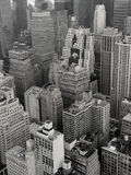 New York City Rooftops Stock Photography