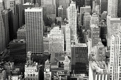 New York City Rooftops Stock Images