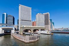 New York City's Historic Battery Maritime Building Royalty Free Stock Photos