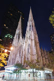 New York City Saint Patrick Cathedral Stock Photos