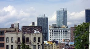 New York City Scene. High Line Park Royalty Free Stock Photography