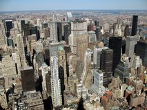 New York City Scenic View Stock Photo