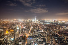 New York city scenic view Royalty Free Stock Photos
