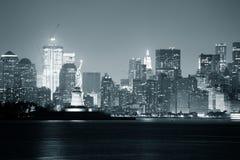 New York City Schwarzweiss stockfoto