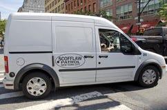 New York City Scofflawpatrull Fotografering för Bildbyråer
