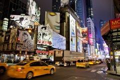NEW YORK CITY - SEPT. 5: Таймс площадь Стоковые Фото