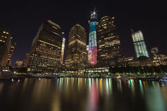NEW YORK CITY - SEPTEMBER 17: World Trade Center Royalty Free Stock Photo