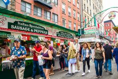 New York Cit Feast of San Gennaro Stock Photography
