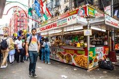 New York Cit Feast of San Gennaro Stock Images
