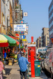 Streetlife in Chinatown, NYC royalty free stock image