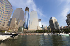 NEW YORK CITY - SETEMBRO 17: World Trade Center Imagens de Stock