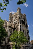 New York City: Shepard Hall en la universidad de la ciudad Fotografía de archivo