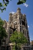 New York City: Shepard Hall på stadshögskolan Arkivbild
