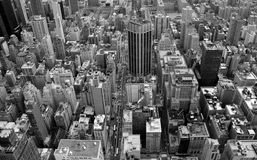 New York. City from the sky Stock Images