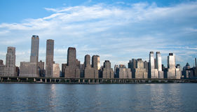 New york city skyline. A shot of buildings in new york city Stock Images