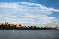 New york city skyline. A shot of buildings in new york city Royalty Free Stock Image