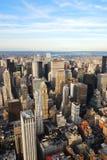 New York City skyline Stock Images