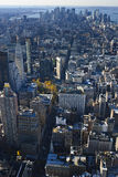 New York City Skyline. From the empire state building Royalty Free Stock Photo