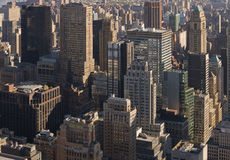 New York City skyline. The Skyline of New York City, New York, USA Stock Photography