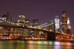 New York City Skyline Royalty Free Stock Images
