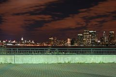 The New York City skyline royalty free stock image