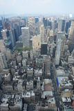 New york city skyline. With the skyscrapers and central park. View from Empire state building Stock Photo