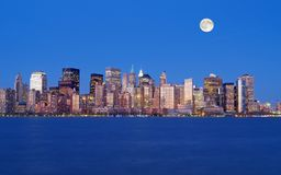 The New York City Skyline Stock Image