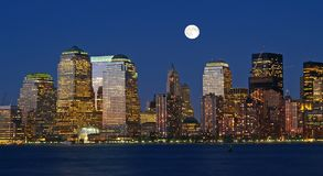 The New York City Skyline Royalty Free Stock Image